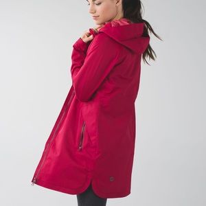 Lululemon Long Rain Coat